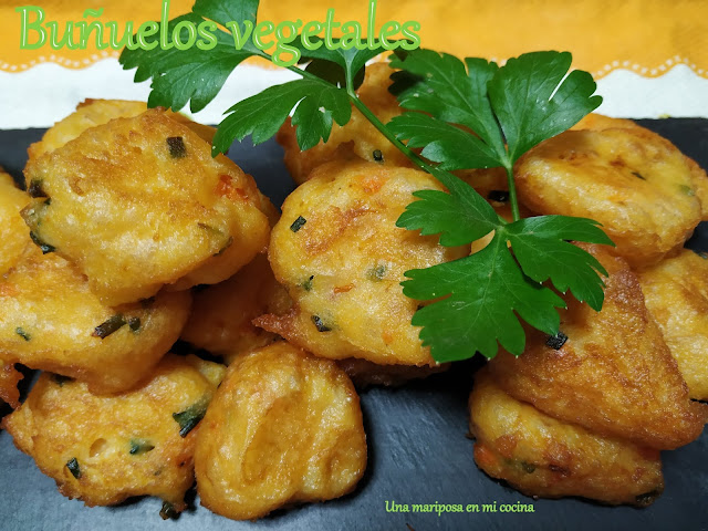 Buñuelos Vegetales