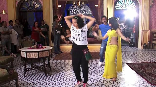In Saree Tamanna In Himmatwala: Tamanna Latest Hot Stills From Himmatwala Movie