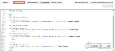 Membuat Template Blog Sendiri Dengan CSS Responsive