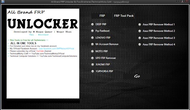 All Brand FRP Unlocker Full Version Free Download
