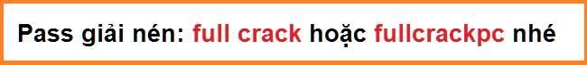 mật khẩu giải nén aoe de full crack