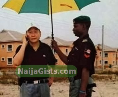 nigerian police officer servant