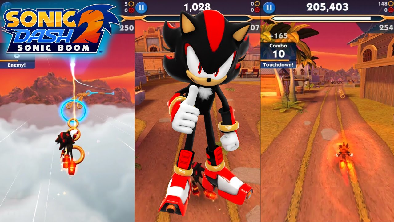 Sonic Dash 2 Sonic Boom Mod Apk Game For Android Free – Desenhos
