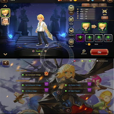 Dragon Nest Sain Haven Apk Data Full terbaru