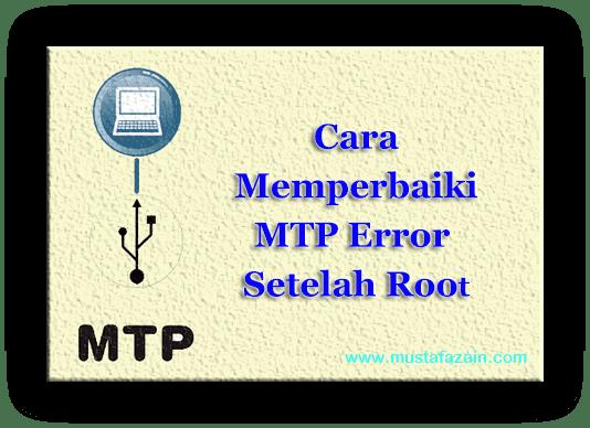 Cara Memperbaiki MTP Error Setelah Root Pada Xiaomi