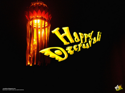 Happy Deepavali / Happy Diwali - The festival of lights