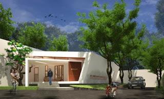 konsep rumah minimalis modern 1 lantai
