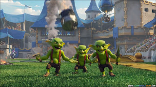 Goblins Knife animation Clash Royale Advertise