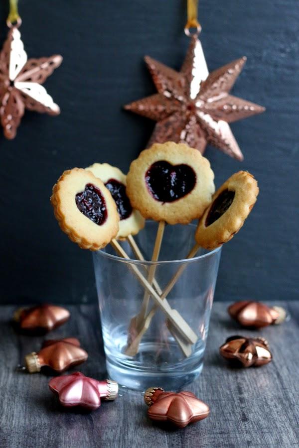 Sternenturm, Kekslollies, Weihnachtsbäckerei, Fleurcoquet