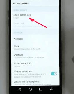 Pilih Metode Kunci Layar Dengan Fingerprint LG G6