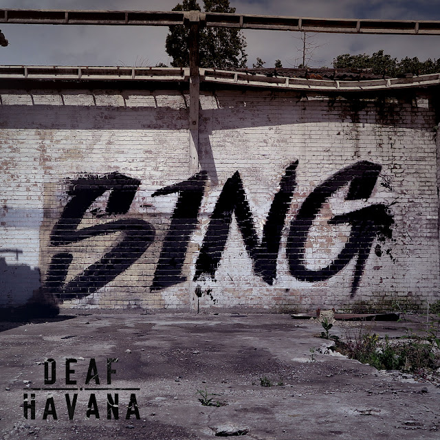 'Sing' single cover artwork by Deaf Havana