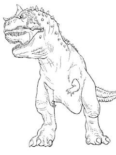 T-Rex Coloring Pages