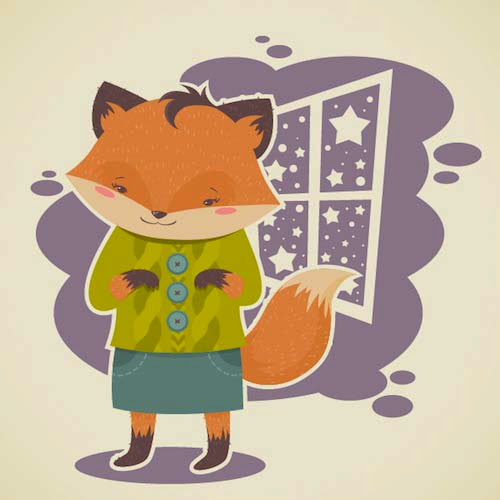 How to Create a Flat, Subtle Textured Fox in Adobe Illustrator