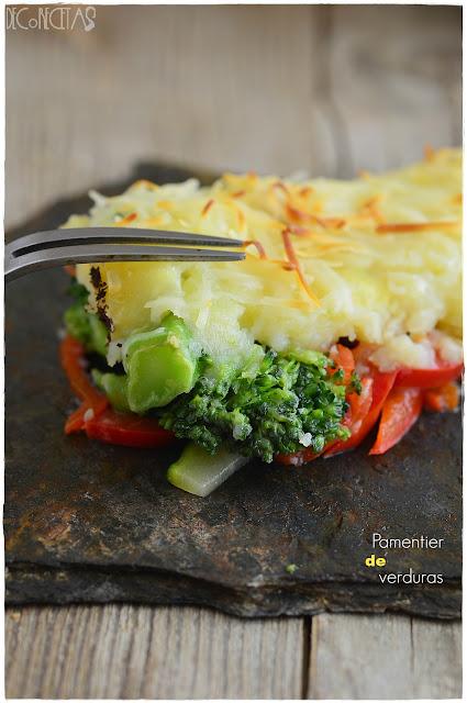 Parmentier de verduras