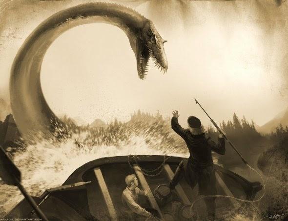 RJ Palmer arvalis deviantart ilustrações fantasia monstros e criaturas