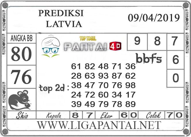 """Prediksi Togel """"LATVIA"""" PANTAI4D 09 APRIL  2019"""