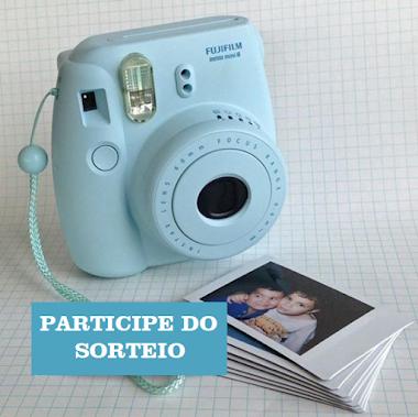 SUPER SORTEIO - Câmera Instantânea Fuji Instax Mini