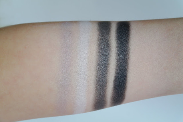 teeez cosmetics eyeshadow qaud equinox swatch swatches review