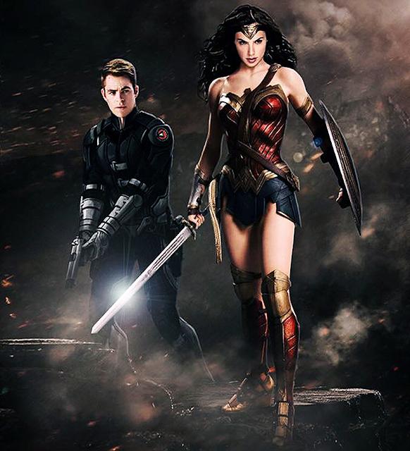 Gal Gadot o va interpreta oficial pe Wonder Woman iar Chris Pine va fi Căpitanul Steve Trevor