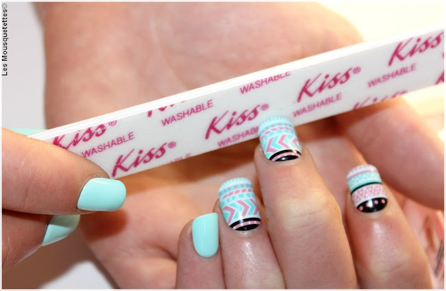 kit faux ongles kiss
