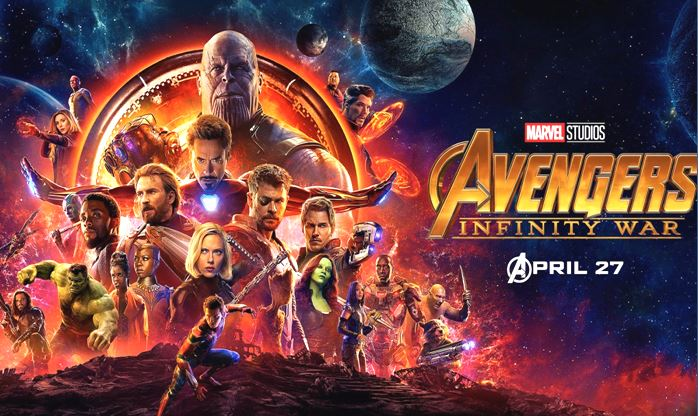 Top 5 Best Hollywood Movies 2018, Avengers Infinity War