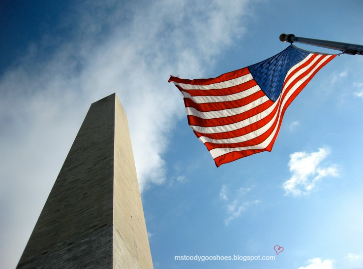 Washington Monument, Washington, DC | Ms. Toody Goo Shoes #americanflag