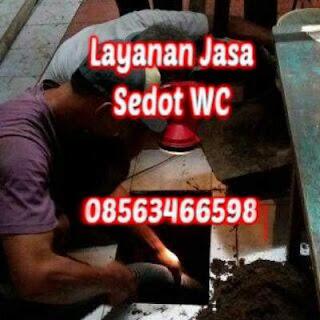 Sedot WC Pasar Kembang Surabaya