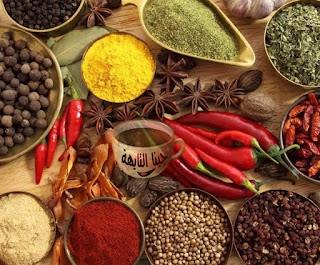 انواع البهارات الاساسية في المطبخ واسماء البهارات واستعمالاتها spices needed for food