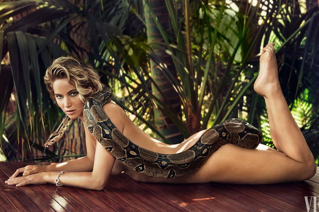 Aquí cuando Jennifer posó para Vanity fair. FOTO: Vanity Fair