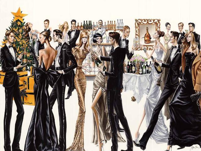 Ilustración nochevieja Arturo Elena -Missy Sale-