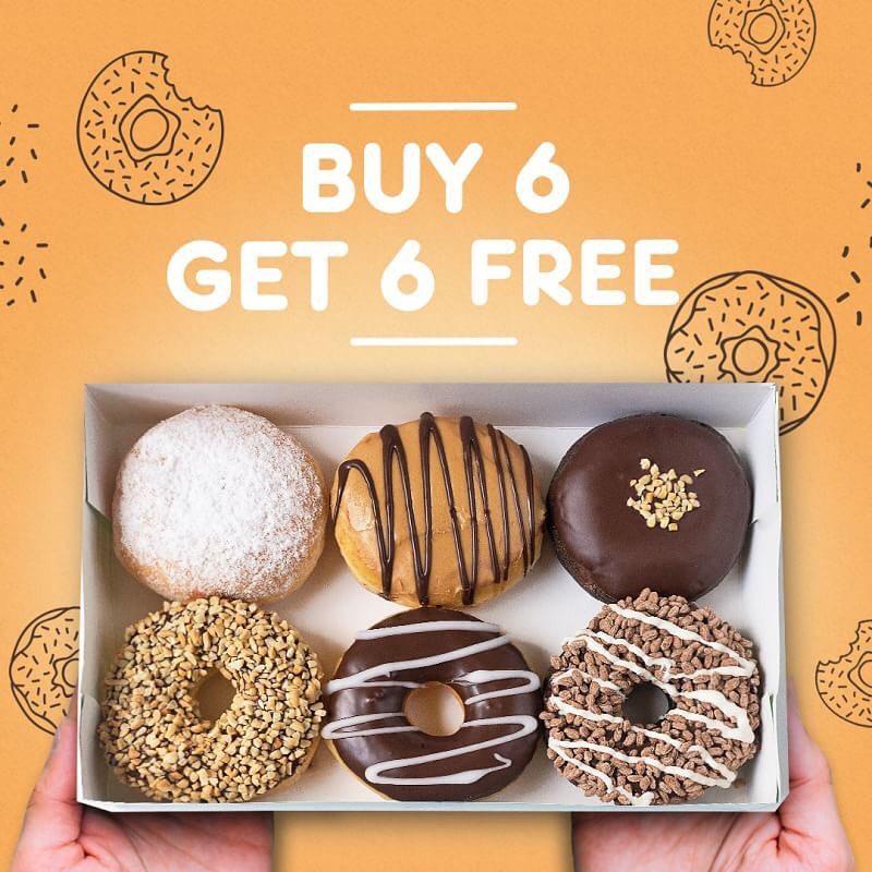 #DunkinDonuts - #Promo Beli 6 Gratis 6 Donut Pakai Kupon LINE (25 - 29 Jan 2019)