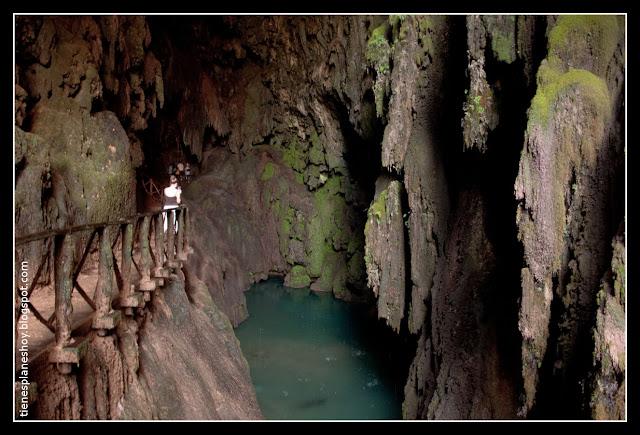 Gruta Iris Monasterio de Piedra