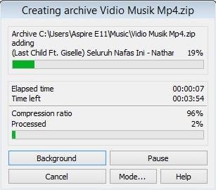 Cara Membuat Format File Rar Dan  Zip