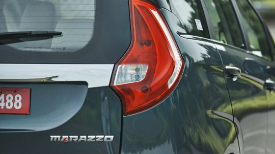 All New 2018 Mahindra Marazzo MPV Taillight