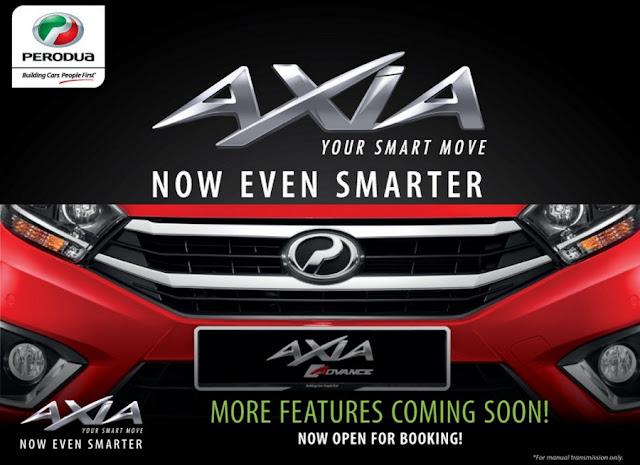 Kereta Perodua Axia Baru 2017 (Facelift)