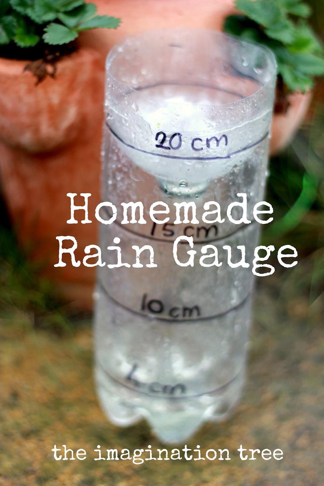 Homemade Rain Gauge