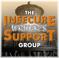 Badge for The Insecure Writer's Support Group depicting a lighthouse.