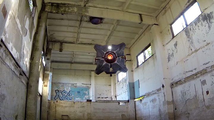 летающий дрон-сканер, Half-Life 2, City 17, Сити-17, Альянс, Combine, своими руками