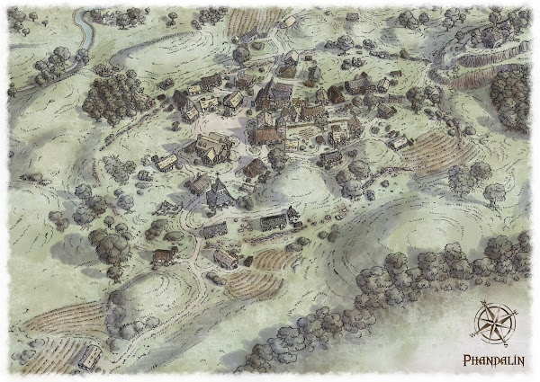 Phandalin from above