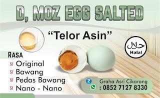Kartu Nama Telur