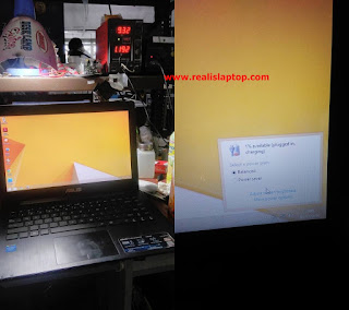 Service Laptop Asus X453 Tidak Ngecas ( Not Charging )