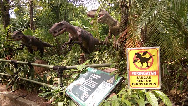 Taman Legenda TMII, taman dinosaurus