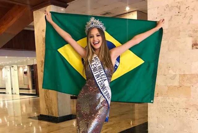 Adolescente de Cajazeiras desbanca 80 países e vence concurso internacional de beleza no Caribe