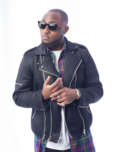 Davido on a black jacket - gisttribe.com
