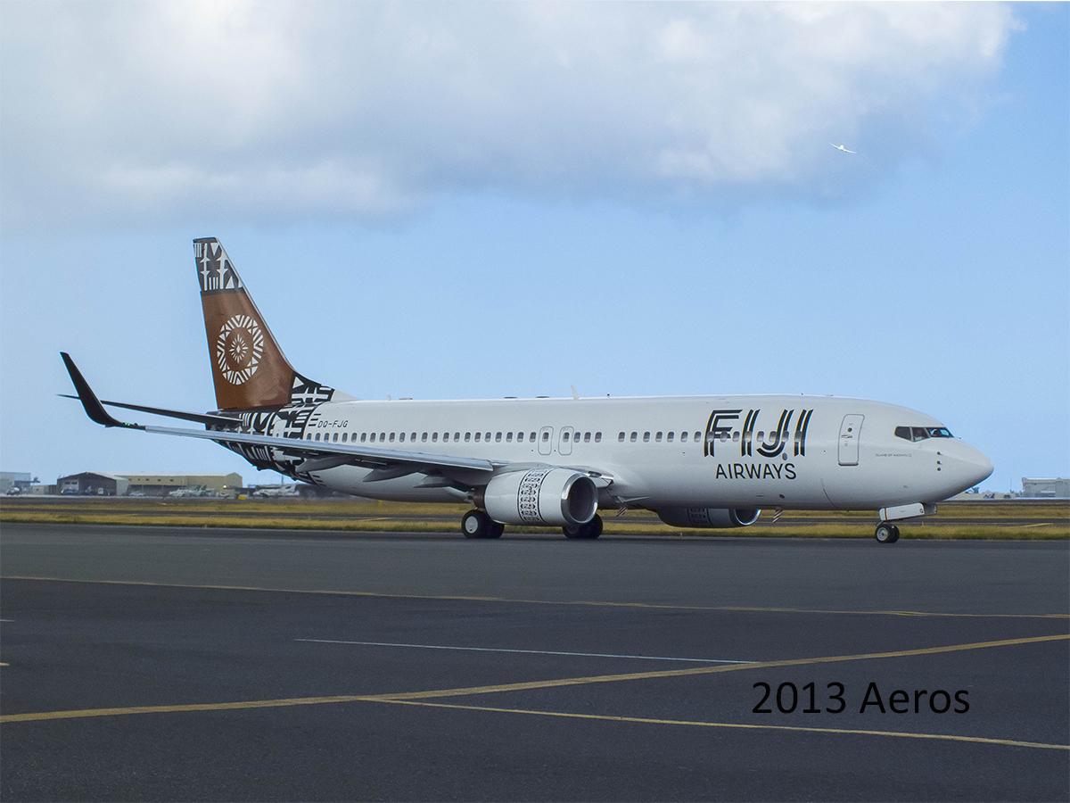 Fiji Airways Dq Fjg