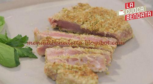 La Cuoca Bendata - Tonno in crosta di frutta secca ricetta Parodi