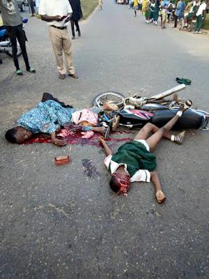 Dangote Truck Killed Three Itamerin Students At Ajeb, Oru Ijebu