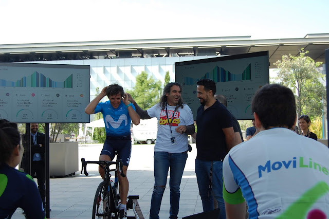 ¡Así fue el Tour de Francia en Distrito Telefónica!