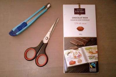 郑明析, 巧克力, 刀片, 剪刀