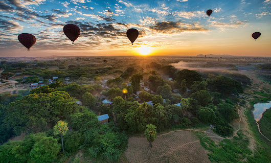 Balloon over Bagan - the ultimate guide to explore Myanmar from the sky